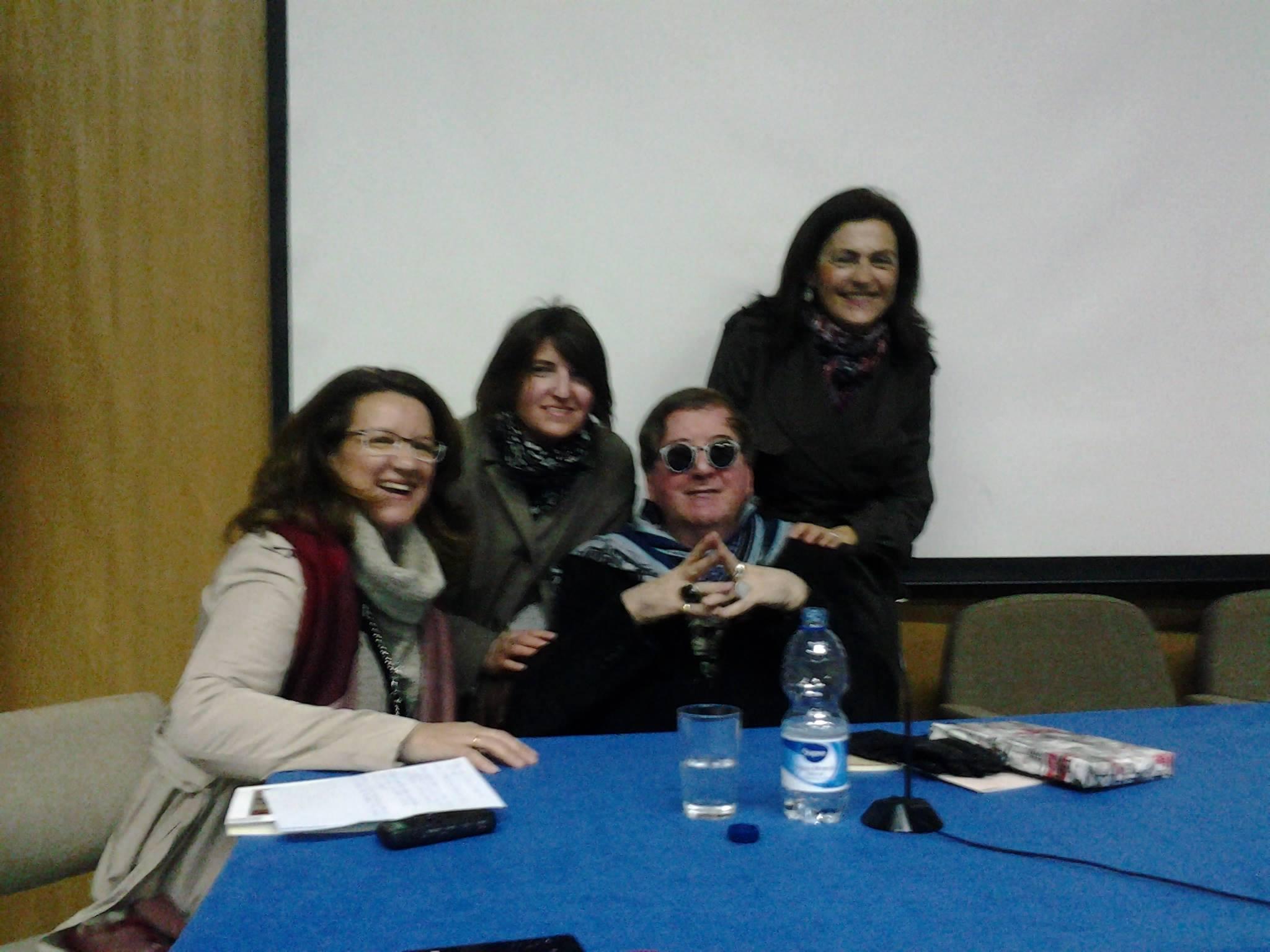 LAdeV y amigas en Cáceres. Abril, 2014