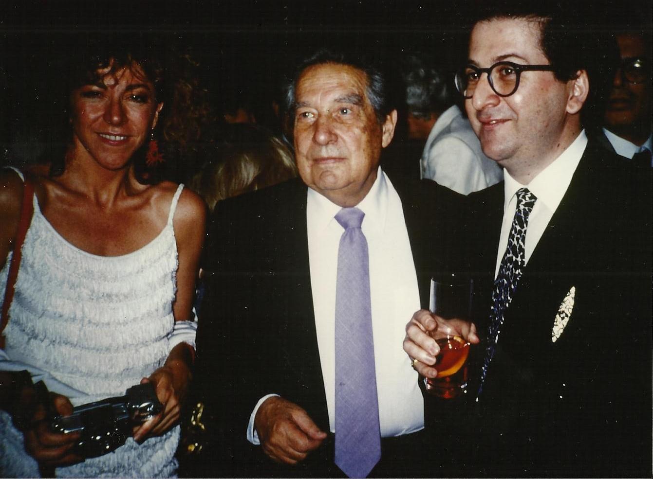 LAdeV y Octavio Paz, 1996.