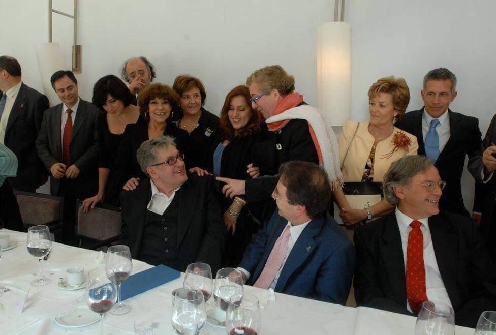 LAdeV con José Emilio Pacheco. Hacia 2010