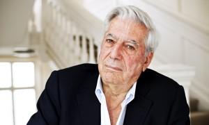 Mario Vargas Llosa … genial presence.