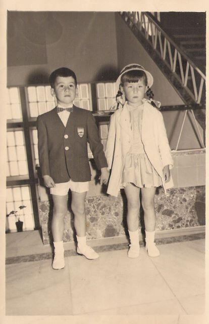 LAdeV y amiguita,1958